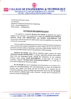Recommendation Letter Samples Graduate In Usa