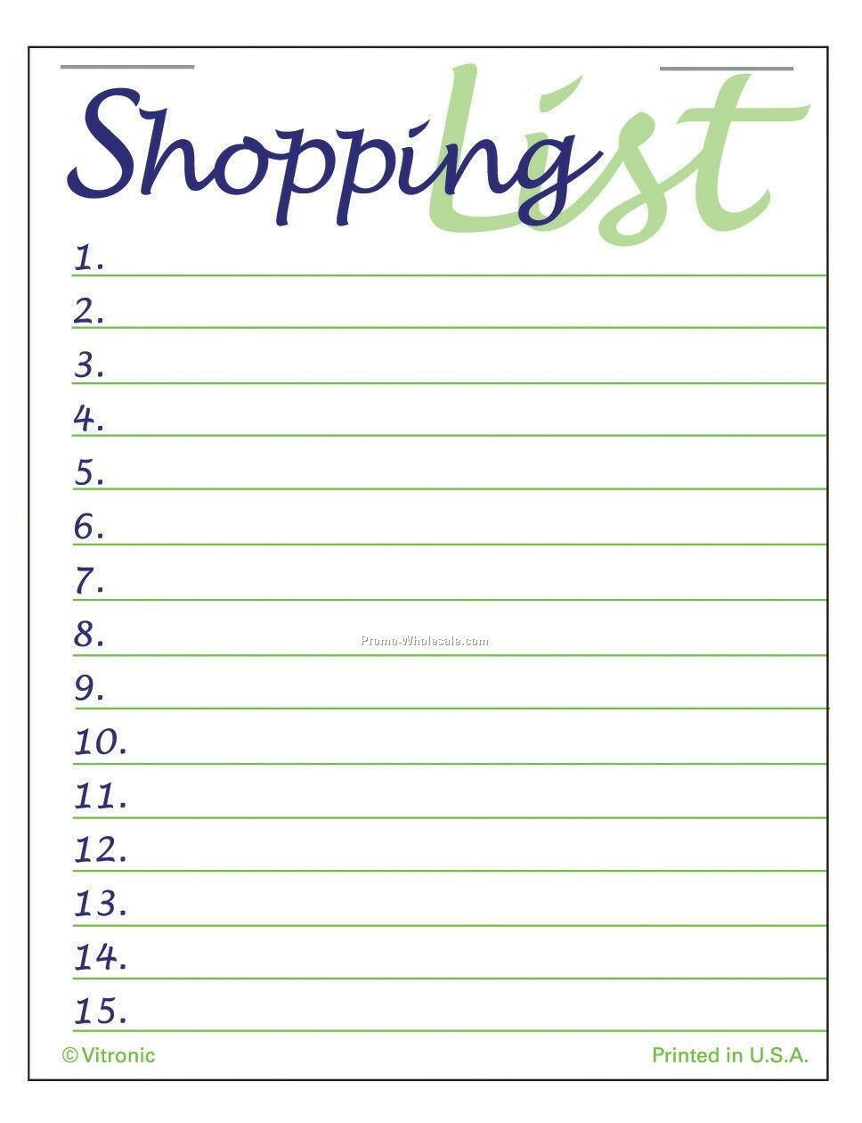 list of items to bring to usa shopping list graduate in usa